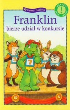 Okładka książki Franklin bierze udział w konkursie Sharon Jennings