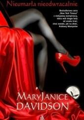 Okładka książki Nieumarła nieodwracalnie Mary Janice Davidson