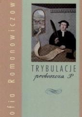 Okładka książki Trybulacje proboszcza P. Zofia Romanowiczowa