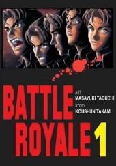 Okładka książki Battle Royale 1 Koushun Takami,Masayuki Taguchi