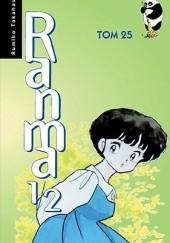 Okładka książki Ranma 1/2 tom 25 Rumiko Takahashi