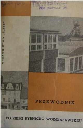 Okładka książki Przewodnik po ziemi rybnicko-wodzisławskiej Innocenty Libura