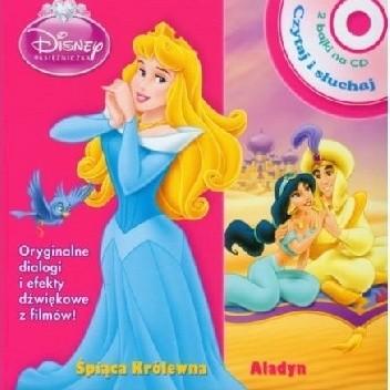 Okładka książki Śpiąca królewna. Aladyn Walt Disney