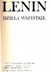 Okładka książki Dzieła wszystkie. T. 40, Grudzień 1919 - kwiecień 1920 Włodzimierz Lenin