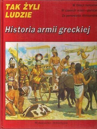 Okładka książki Historia armii greckiej Peter Connolly