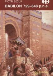 Okładka książki Babilon 729-648 p.n.e. Piotr Biziuk