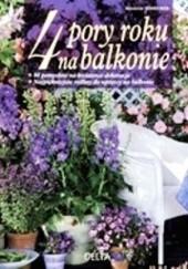 Okładka książki 4 pory roku na balkonie Annette Schreiner