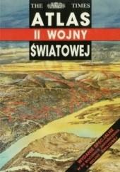Okładka książki Atlas II wojny światowej John Keegan