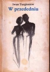 Okładka książki W przededniu Iwan Turgieniew