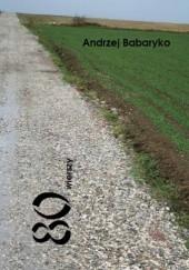 Okładka książki 80 wierszy