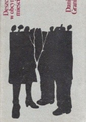 Okładka książki Deszcz w obcym mieście Daniił Granin