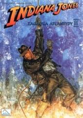 Okładka książki Indiana Jones i zagadka Atlantydy II William Messner-Loebs,Dan Barry