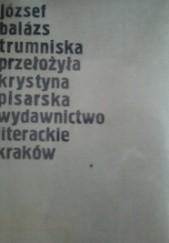 Okładka książki Trumniska József Balázs