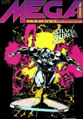Okładka książki Mega Marvel #03: Silver Surfer - Misja Heroldów Ron Marz,Ronald Lim,M.C. Wyman