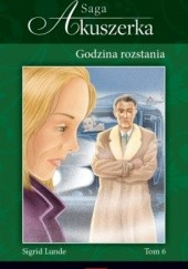 Okładka książki Godzina rozstania Sigrid Lunde