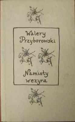 Okładka książki Namioty wezyra Walery Przyborowski