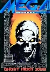 Okładka książki Mega Marvel #13: Ghost Rider 2099 Chris Bachalo,Len Kaminski