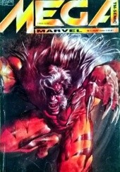 Okładka książki Mega Marvel #14: Sabretooth Bill Sienkiewicz,Jim Lee,Larry Hama,Mark Texeira