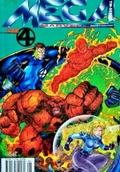 Okładka książki Mega Marvel #18: Heroes Reborn: Fantastic Four Jim Lee,Brandon Choi,Brett Booth,Scott Williams,Tom McWeeney