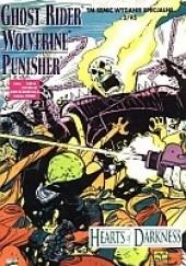 Okładka książki Ghost Rider/Wolverine/Punisher: Serca Ciemności John Romita Jr.,Klaus Janson,Howard Mackie