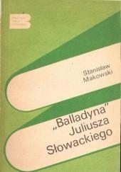 Okładka książki Balladyna Juliusza Słowackiego Stanisław Makowski
