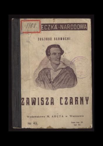 Okładka książki Zawisza Czarny Juliusz Słowacki