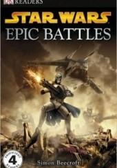 Okładka książki Star Wars Epic Battles Beecroft Simon