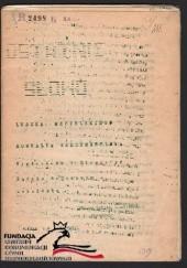 Okładka książki Ostatnie słowo wygłoszone w Okręgowym Sądzie  Wojskowym w Warszawie Leszek Moczulski,Romuald Szeremietiew