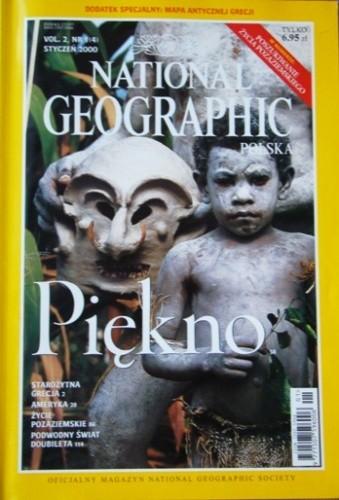 Okładka książki National Geographic 01/2000 (4) Redakcja magazynu National Geographic