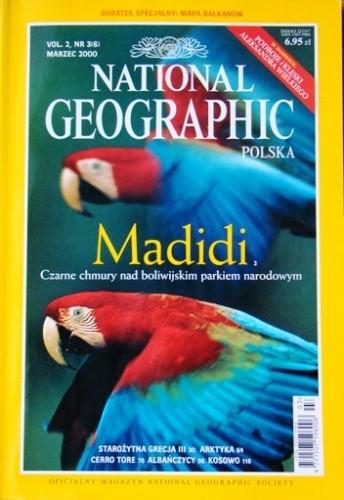 Okładka książki National Geographic 03/2000 (6) Redakcja magazynu National Geographic