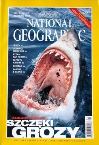 Okładka książki National Geographic 04/2000 (7) Redakcja magazynu National Geographic