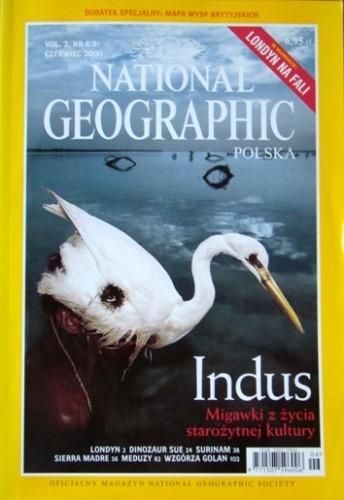 Okładka książki National Geographic 06/2000 (9) Redakcja magazynu National Geographic