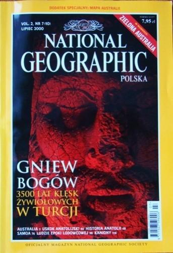 Okładka książki National Geographic 07/2000 (10) Redakcja magazynu National Geographic