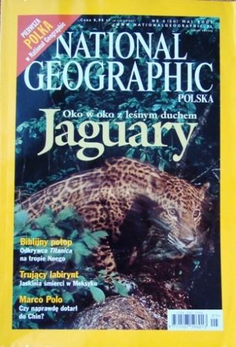 Okładka książki National Geographic 05/2001 (20) Redakcja magazynu National Geographic