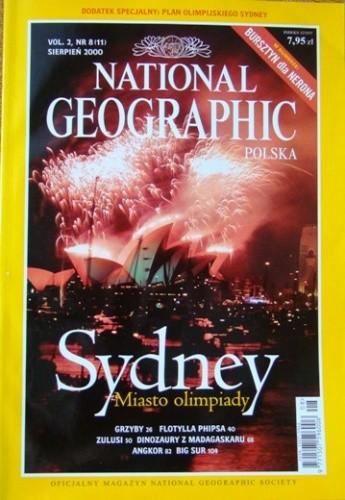 Okładka książki National Geographic 08/2000 (11) Redakcja magazynu National Geographic