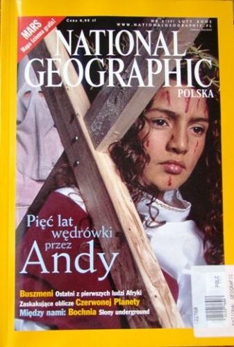 Okładka książki National Geographic 02/2001 (17) Redakcja magazynu National Geographic