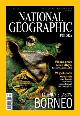 Okładka książki National Geographic 10/2000 (13) Redakcja magazynu National Geographic