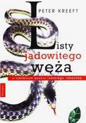 Okładka książki Listy jadowitego węża Peter Kreeft