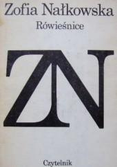 Okładka książki Rówieśnice Zofia Nałkowska