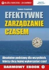 Okładka książki Efektywne zarządzanie czasem Tomasz Szopiński