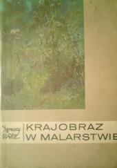 Okładka książki Krajobraz w malarstwie Ignacy Witz