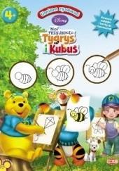 Okładka książki Umiem rysować: Moi przyjaciele Tygrys i Kubuś Walt Disney