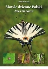 Okładka książki Motyle dzienne Polski. Atlas bionomii Adam Warecki