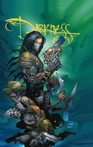 Okładka książki The Darkness - Wydanie kolekcjonerskie tom II Joe Benitez,Marc Silvestri,Michael Turner,David Wohl,Christina Z.