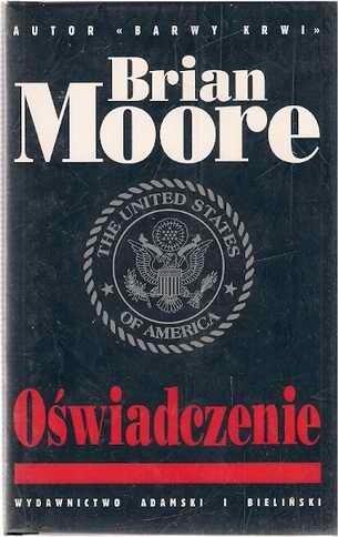 Okładka książki Oświadczenie Brian Moore