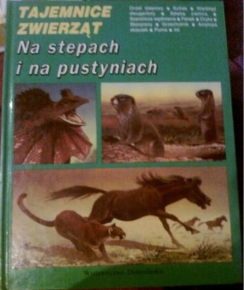 Okładka książki Na stepach i na pustyniach Michel Cuisin
