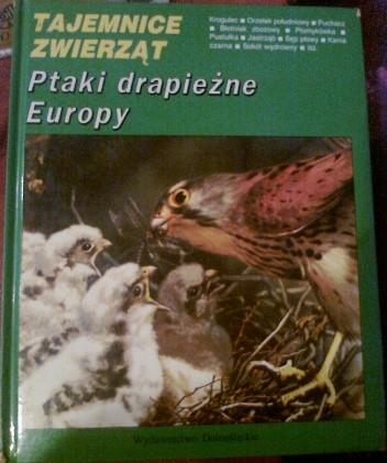 Okładka książki Ptaki drapieżne Europy Michel Cuisin