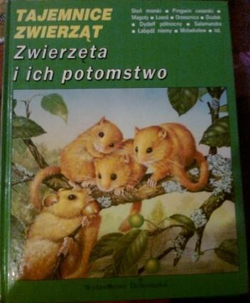 Okładka książki Zwierzęta i ich potomstwo Michel Cuisin