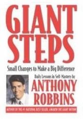 Okładka książki Olbrzymie kroki. 365 lekcji samodoskonalenia Anthony Robbins