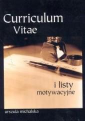 Okładka książki Curriculum vitae Urszula Michalska